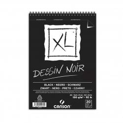 Album XL® Noir spiralé...