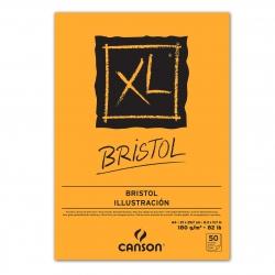 Bloc XL® Bristol collé...