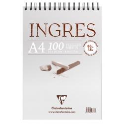 Bloc Ingres Etude vergé...