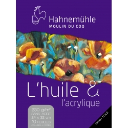 Bloc Huile & Acrylique 230g...