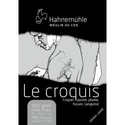 Bloc Le Croquis 120g Lisse...