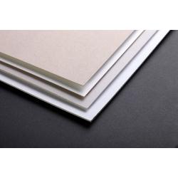 Carton gris-blanc