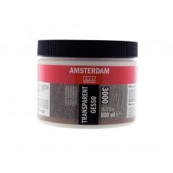 Gesso Amsterdam transparent
