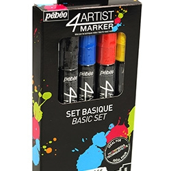 4Artist Marker Set 5 x 4 mm...