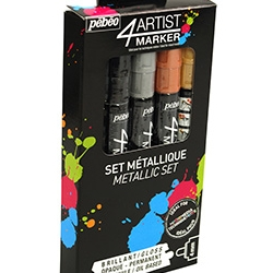 4Artist Marker Set 5 x 4mm...
