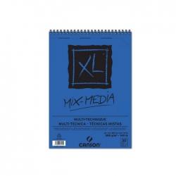 XL Bloc Spirale Mix Media 300g